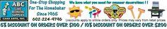 ABC Cake Decorating Supplies  2853 E Indian School Rd  Phoenix, AZ. 85016  602-224-9796