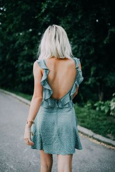 My Favorite Summer Dresses!, SUMMER OUTFİTS, Today I am sharing pics from New York and some of my favorite summer dresses! There are tons of cute short dresses, maxi dresses, and rompers! Spring Summer Fashion, Spring Outfits, Spring Style, Spring Clothes, Outfit Summer, Casual Summer, Ruffle Dress, Dress Up, Ruffles