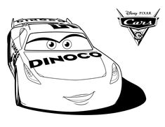 Lightining Mcqueen coloring page from the new movie Cars 3