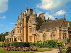 Tyntesfield, near Bristol, is a spectacular Victorian house and estate owned by the National Trust