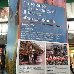 Tutti i riti della #PasquaInPuglia nelle stazioni d'Italia grazie @fabienza per questo scatto.