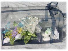 Bomboniera Prima Comunione - Bouquet con Fiori di perline