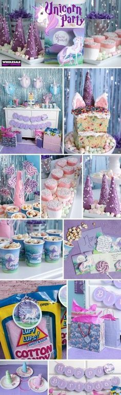 Do you like #Parties? What about unicorns? Why not both! Get your own unicorn party done with these awesome party ideas!