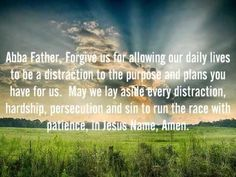 VERSE OF THE DAY and DAILY PRAYER  March 15, 2015 by http://www.missionariesofprayer.org