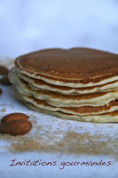 Pancakes au lait d'amande | Invitations gourmandes                                                                                                                                                     Plus