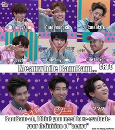 And then I remember this is Bambam 80% of the time and I sigh with relief that my squishy is still there!! (Meme Center | allkpop) #Bambam #GOT7