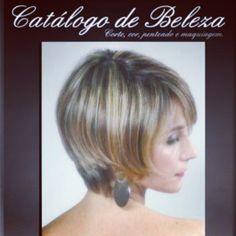Capa do catálogo de beleza ..Modelo: Fabiana Moreira.