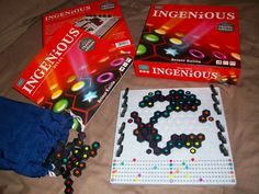Playing Ingenious Travel Edition from Sophisticated Games