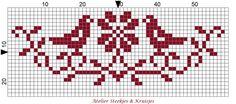 redwork cross stitch birds