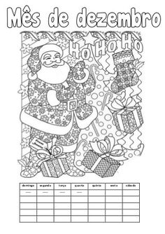 Calendário do mês de dezembro (2016) Word Search, Fails, Diagram, Words, Education, Christmas Activities, Literacy Activities, Christmas Calendar, Encouragement