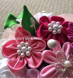 http://s.ameblo.jp/bouquet-de-coeur/  Handmade pink flower arrangement