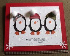 penguin card using cricut