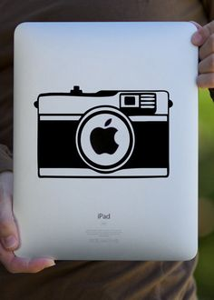 must have...camera decal for my ipad
