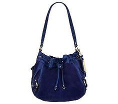 Tignanello Tres Suede Shoulder Bag 94