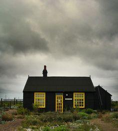 Derek Jarman's Prospect Cottage, Dungeness, UK