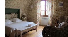 La Gueriniere Cote Chambres, France   Country Home Ideas   The Country Lifestyle Magazine France Country, Country Lifestyle, Magazine, Bed, Furniture, Ideas, Home Decor, Bedroom, Decoration Home