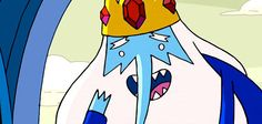 """I got The Ice King! Which """"Adventure Time"""" Character Should Be Your Roommate? :c So not fair. The Ice King is like, bonkers!"""