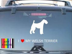 I love my Welsh Terrierchoose size & personalization by Teeznstyle