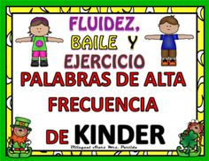 Spanish Kindergarten Sight Words Palabras de Alta Frecuencia Dance and Exercise March Version  Dancing Game to the Cha-Cha Slide rhythmPlease read the description before purchasing this product. If you have any questions, feel free to contact me.    (bilingualstars1@gmail.com)Do you need a resource where students can learn the sight words in an interactive and fun way dancing?