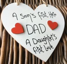 First Father Day Gift Ideas Homemade - Made in the UK Birthday Gift For Him, Unique Birthday Gifts, Boy Birthday, Happy Birthday, First Fathers Day Gifts, Gifts For Mum, Birthday Frames, Friends Day, Birthday Messages