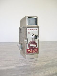 Vintage Bell & Howell 252 8mm camera by CocoAndBear on Etsy, $25.00