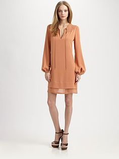 would be great with a belt.. Diane von Furstenberg - Marlian Embellished Dress