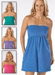 afb4e6798f4 Terry Romper - Misses  Sizes