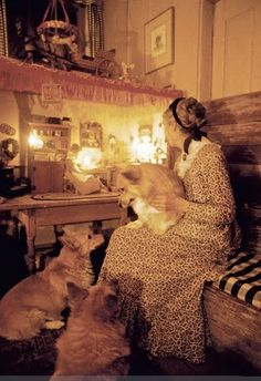 """Corgis are enchanted.  You need only to see them in the moonlight to know this."" -- Tasha Tudor"