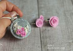цветочные украшения из полимерной глины - Поиск в Google