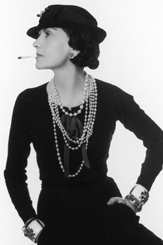"""I don't care what you think about me. I don't think about you at all."" -Coco Chanel"