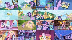 Collage My Little Pony, Collage, Collages, Collage Art, Mlp, Colleges