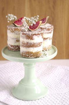 Fig naked cakes | I Love Cakes