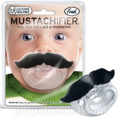 Lil' Shaver Mustache Pacifier and more Incredible Gift Ideas at Perpetual Kid. Hey, that baby has a mustache! No, it's just our Chill Baby Lil' Shaver Mustache Cool Baby, Baby Kind, Fun Baby, Baby Mustache, Mustache Crafts, Mustache Birthday, Little Man, Little People, Hilarious Stuff