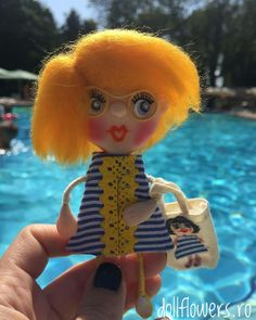 Enjoy summer days! Polymer Clay Dolls