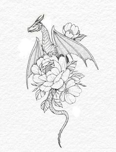 Tattoo Artist Ella on inktober day 12 - dragon All of my inktober designs will be available as tattoos at the end of the month! Ill take bookings for them on Small Dragon Tattoos, Chinese Dragon Tattoos, Dragon Tattoo For Women, Dragon Tattoo Designs, Small Tattoos, Tattoos For Women, Cute Dragon Tattoo, Dragon Tattoo Drawing, Dragon Drawings