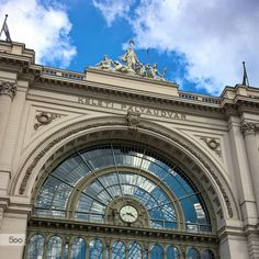 Budapest Keleti railway station by Dávid Detkó on 500px | with Lumia 640 #Lumia #Lumia640 #ShotOnMyLumia #Station #Architecture #500px