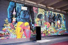 Ammar Abo Bakr - street art - La Belle de Mai - Marseille