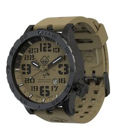 Take a look at this Black & Olive HeavyWaterDiver® Arid B Bracelet Watch today!