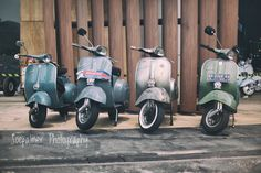 71 years of Vespa. Vespa day in Jakarta