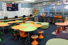 "One of our ""Lighthouse"" classrooms - flexible learning environments"