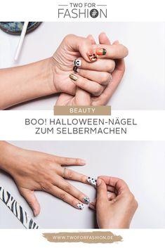 Booooo, Halloween steht vor der Tür! Auf Two for Fashion zeigen wir euch, wie ihr euren Nägeln einen gruseligen Anstrich verpasst. Spooky Season, we are ready 🖤👻🧡 #halloween #halloweennägel #nageldesign Wedding Rings, Engagement Rings, Beauty, Jewelry, Fashion, Scary Halloween, Halloween Nails, Rings For Engagement, Beleza