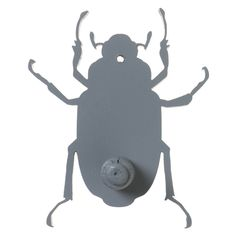 Kapstok Insect Grijs voor de kinderkamer | Saartje Prum