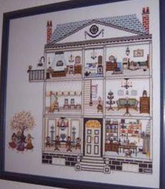 Cross Stitch Dollhouses: November 2012