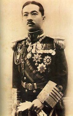 Prince Paribatra Sukhumbhand, Prince of Nakhon Sawan (RTGS: Boriphat Sukhumphan; Thai: สมเด็จพระเจ้าบรมวงศ์เธอ เจ้าฟ้าบริพัตรสุขุมพันธุ์ กรมพระนครสวรรค์วรพินิต) was a highly influential Thai military officer and government minister in the early 20th century during the last years of the absolute monarchy.