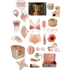 ?cherry blossom girl? by janeth-davalos on Polyvore featuring art
