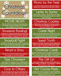 kids christmas activity jar advent idea i like that it takes up a lot