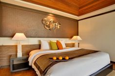 Great Interior Design to Enjoy the Earth Paradise in Velassaru: The Bedroom Of Velassaru Resort