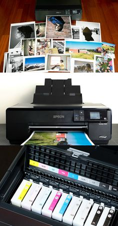 The Best Photo Inkjet Printer | The Epson SureColor P600 delivers excellent print quality and solid performance along with a flip-up color LCD touchscreen for faster setup and maintenance.