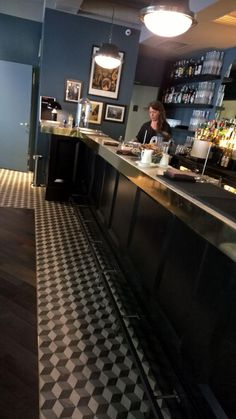 Another beautiful renovation with @marcacorona #Cement #Tiles Terra collection @FashionCafè San Marco in Milan (Italy)