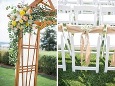 A Charming Waterfront Wedding by Blue Rose Photography - Wedding Party